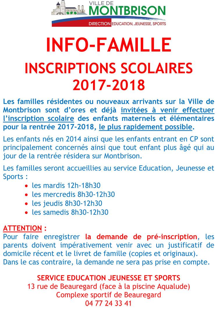 Microsoft Word - 16 10 12 Affiche Inscription Scolaire 2017-2018