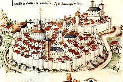 Plan médiéval de Montbrison