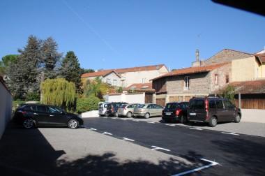 Le parking des Lavoirs Crédit : Ville de Montbrison