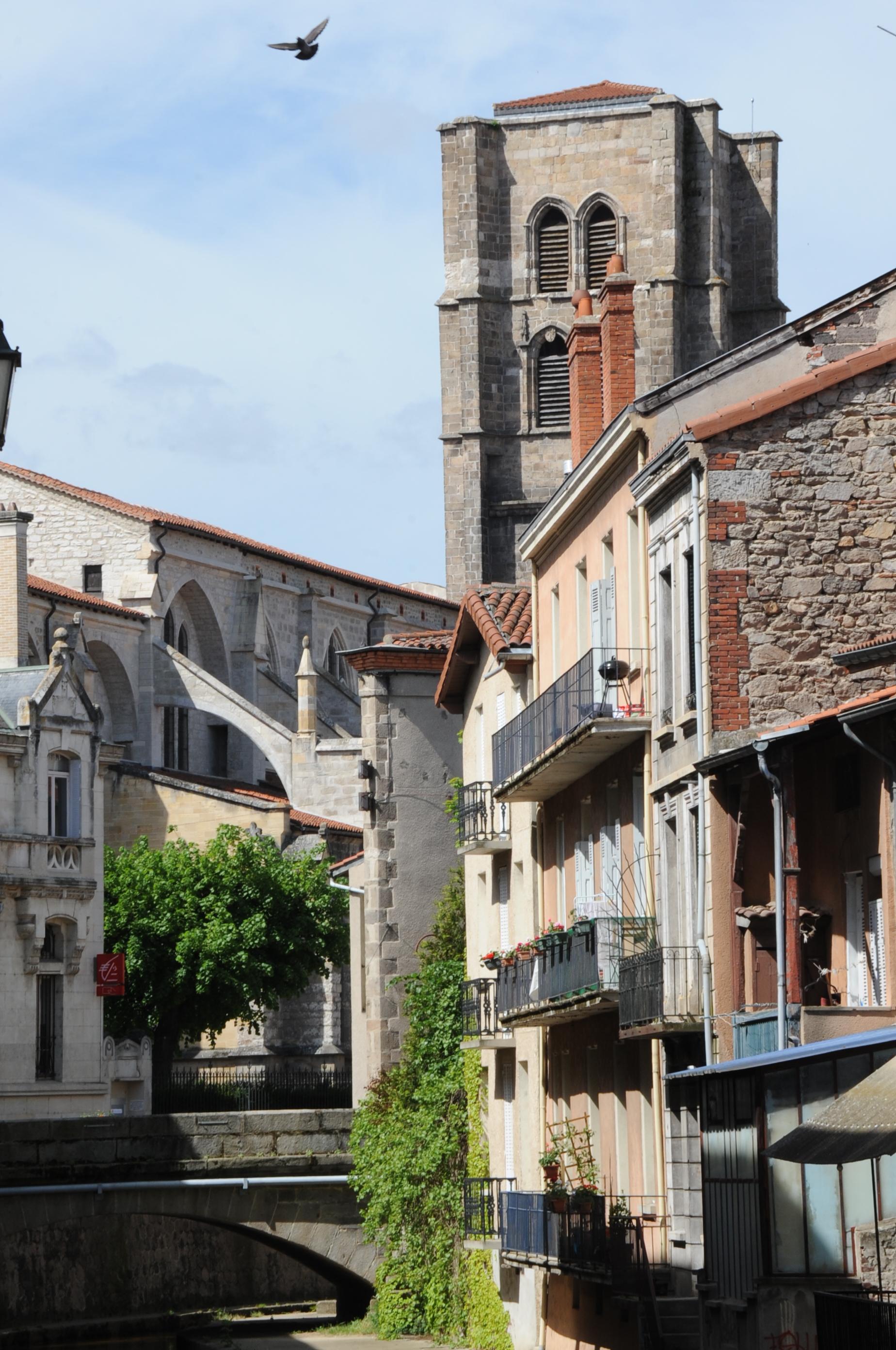 Montbrison Plan De La Ville