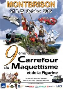 Affiche Carrefour du maquettisme