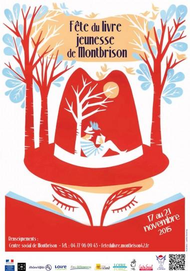 Affiche fête du livre jeunesse