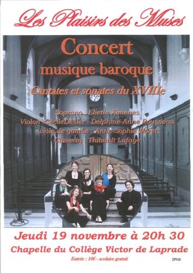 concert baroque 19 nov 2015