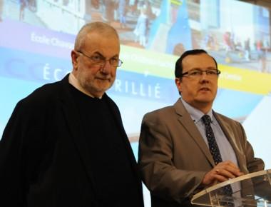 Alain Gauthier et Christophe Bazile