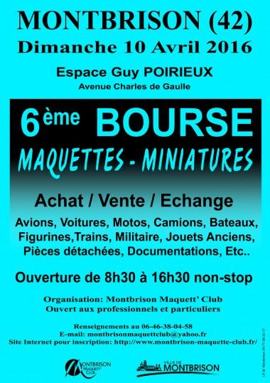affiche bourse Montbrison 2016