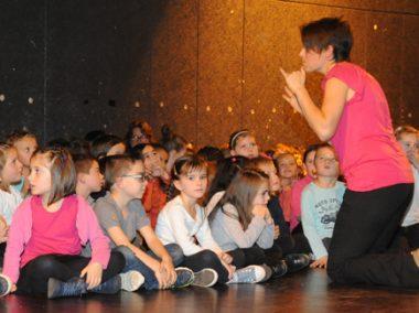 Treize classes des écoles primaires de Montbrison ont participé en chansons