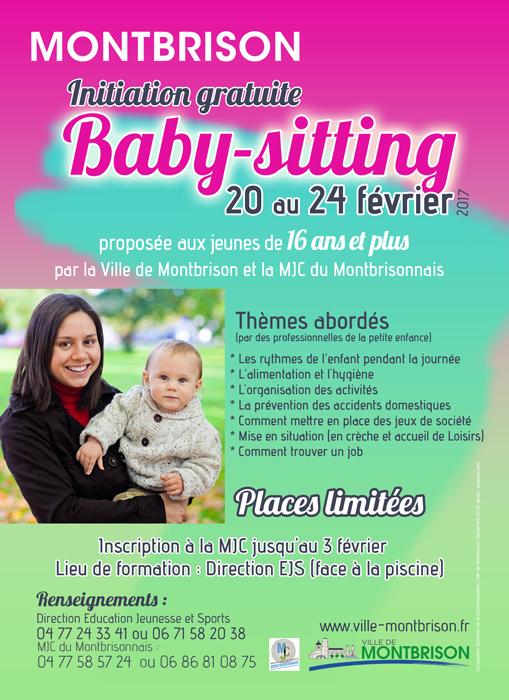 Initiation Gratuite Au Baby Sitting Inscrivez Vous