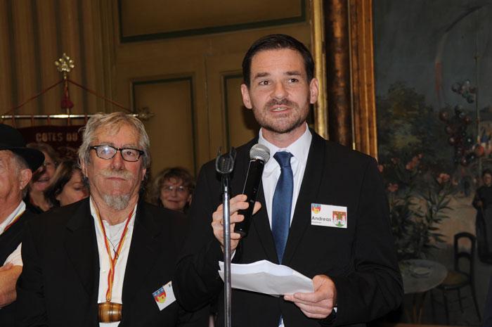 Andreas Steppberger, maire de Eichstätt (Allemagne)
