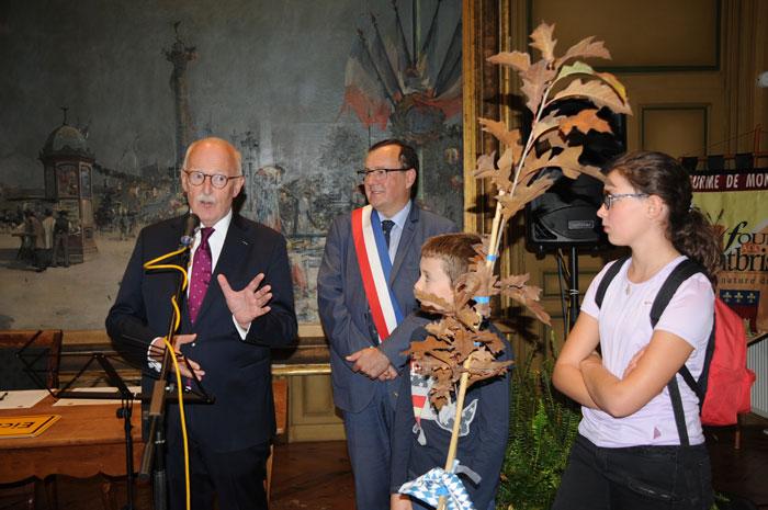 Le consul d'Allemagne et le maire de Montbrison