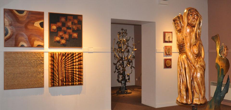 Exposition arbre musée d'allard