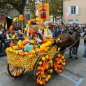 Lors des fêtes de la Fourme, les chars sont réalisés par les associations locales. Crédit Ville de Montbrison