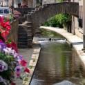 Les berges du Vizézy qui traversent la ville et contribue à son charme sont accessibles à pied. Crédit Ville de Montbrison