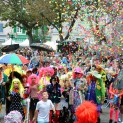 Le premier week-end d'octobre, les fêtes de la Fourme sont un grand rendez-vous festif et familial (octobre 2014). Crédit Ville de Montbrison