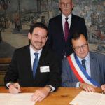 Les maires de Montbrison et Eichstätt signent le serment de jumelage