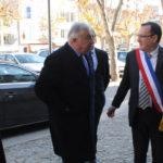 Gerard Larcher et Christophe Bazile maire de Montbrison