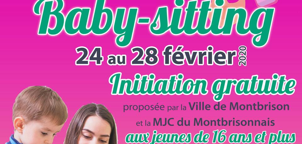 Affiche baby-sitting