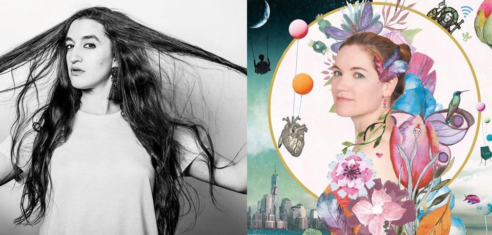 Portraits des artistes : Estelle Meyer et Liz Van Deuq