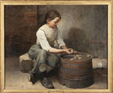 Peinture joueuse osselets