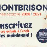 Affiche texte rentrée scolaire 2020-2021