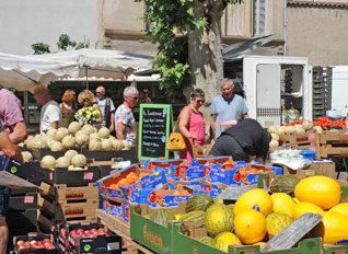 Etal marché Montbrison