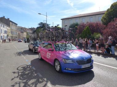 Véhicule d'assistance du tour de france 2020 - Montbrison