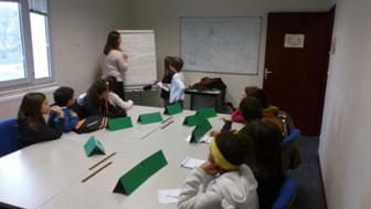 enfants du CME en réunion