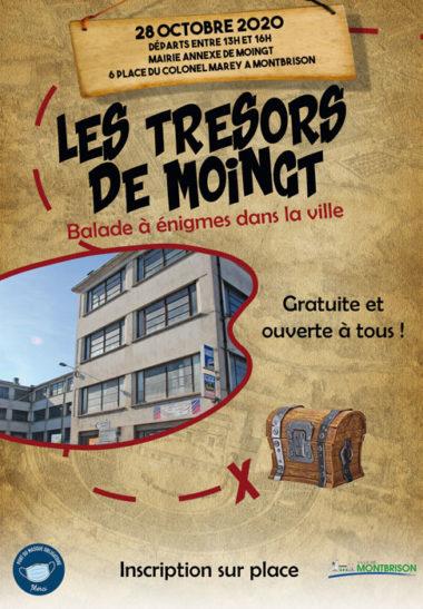 affiche type carte aux trésors avec usine Gégé