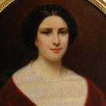 peinture portrait de femme