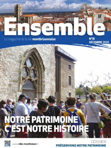 couverture du magazine municipal ensemble n°18