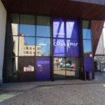 Entrée façade médiathèque copernic montbrison