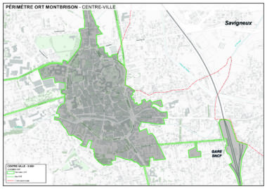 plan ORT centre ville