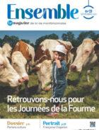 Couverture du magazine ensemble n°21 représentant un enfant devant des vaches